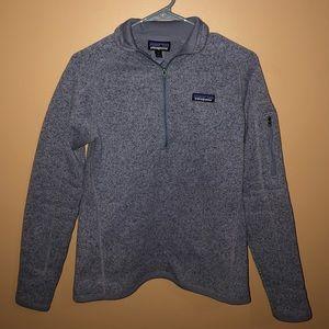 Women's Patagonia better sweater quarter zip